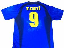Vintage Italian Soccer Jersey toni Jersey Italy World Cup Soccer Jersey XL