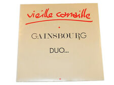 Serge Gainsbourg Eddy Mitchell VIEILLE CANAILLE LOLA RASTAQUOUERE 45 RPM Single