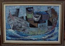 Lars Erik Lindell * 1933, bootkomposition, datée 1958