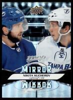 2020-21 UD MVP Mirror Mirror Variation MM-6 Nikita Kucherov Tampa Bay Lightning