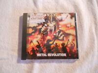 """Living Death """"Metal Revolution"""" 2002 cd Shark Records  5 Bonus Tracks"""