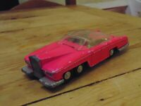 Dinky Vintage Thunderbirds FAB1 No 100 Fluorescent Pink Version
