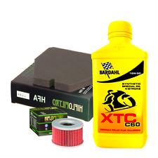 Kit tagliando Bardahl XTC C60 15W50 filtro olio aria Honda CB 400