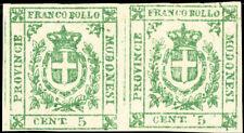 Modena Stamps # 10 MH F Pair Scott Value $2,750.00