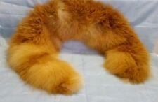 VINTAGE - Collo di pelliccia di volpe rossa - Stola - Pelo lungo