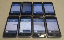 Lot of 8 Apple iPod Touch 2nd Gen A1288 8GB Black - LCD LINES/SPOTS, READ BELOW