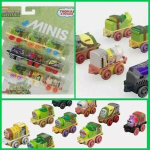 Brand New In Packaging Thomas & Friends Teenage Ninja Turtles Minis Train 9 Pack