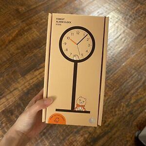 apeach ryan kakao friends LED table wood clock forest alarm clock