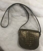 COUTURE DONALD J PLINER CROSSBODY LEATHER BAG MADE IN ITALY BRAND NEW