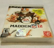 PS3 MADDEN12 GAME PREOWNED GREAT CONDITION FAST SHIPPING SONY PLAYSTATION 3