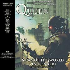 QUEEN News Of The World In Concert Limited Edition Green Vinyl LP Album sealed