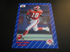1991 CFL ALL WORLD FOOTBALL ALLEN PITTS  CARD #32 **CALGARY STAMPEDERS***
