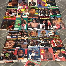 Lot 31 Sports Illustrated Boxing Legends Ali Leonard Hagler Duran Foreman Sugar