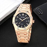 Men's Watch Relojes De Hombre Stainless Steel Quartz Business Classic Watches