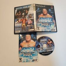 WWE SmackDown Here Comes the Pain - PS2 - B+ Condition - Complete - Tested