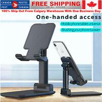 Universal Foldable Desk Stand Holder Bracket For Mobile Phone Tablet Adjustable