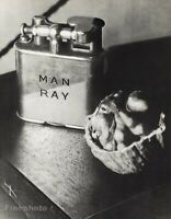 1930 Original MAN RAY Personal Cigarette Lighter Walnut Still Life Photo Gravure