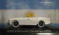 1953 IAME Argentino President Peron Car Justicialista COVERTIBLE 1/43
