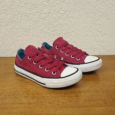Youth CONVERSE Chuck Taylor All Star Pink Mauve Low Top Shoe Size 11