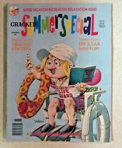 CRACKED MAGAZINE - GIANT SIZE SUMMER 1991 ISSUE - NICE COPY
