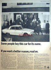 1967 Rover '2000 TC'' Saloon Car Advert #2 - Vintage Auto Photo Print Ad