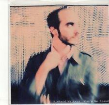 (CA835) Richard Walters, Where We Stand - 2010 DJ CD