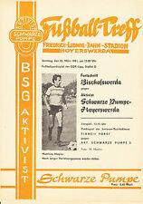 DDR-Liga 80/81 activista negra bomba-Hoyerswerda-progreso Bischofswerda