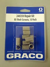 FREE Storage Case 246359-80 Mesh Filter 10 pc fit GRACO Fusion AP /& Boss G2