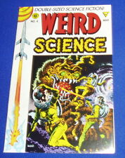 Weird Science Double-Size 4. Pre-code EC  reprint. Gladstone 1990 series. NM