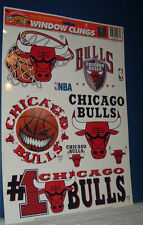 NEW OFFICIAL Chicago Bulls Window Clings NBA