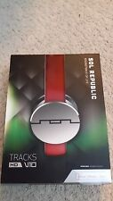 SOL REPUBLIC - Tracks HD On-Ear Headphones - Red ( 1241-03 )