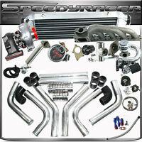 17pcs BMW 323IS 325IS 328IS E36 E46 M50 T04E T3/T4C Turbo Kit With EMUSA Turbo