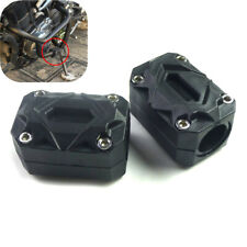 Universal Motorcycle Engine Protection Guard Rack Pad Block 22/25/28mm Bar 2Pcs