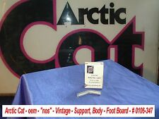 Arctic Cat oem Support, Body-Foot Board # 0106-347 1971 Turf Tiger  Vintage