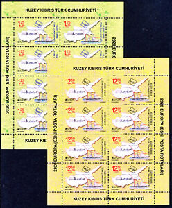 NORTHERN CYPRUS 1985/2020 EUROPA CEPT SHEETS - each available to buy seperately