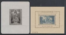 Luxembourg - MS 468a, MS 487a - u/m - 1945 - Our Lady of Luxembourg 1946 Exhibi