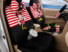 18pcs 2017 new Cartoon Mickey Mouse car seat cover plush seat covers car-covers