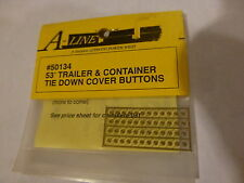 A-Line HO #50134 Tie-Down Cover Buttons (48 in pkg)