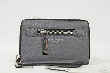 NWT MARC By Marc Jacobs M0008455 Gotham Zip Phone Wallet/Wristlet in 074 Shadow