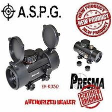 Tactical 1x30 Dual Color Red / Green Dot Scope w/ Picatinny Flat Top Mount 30mm