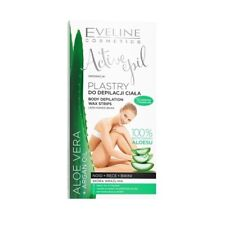 Eveline Active Epil Body Depilation Wax Strips Aloe Vera 12Pcs