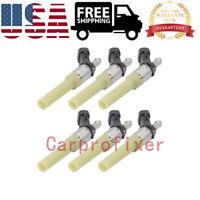 6Pack 12568332A Fuel Injectors for Chevrolet S10 4.3L V6//1996-2002