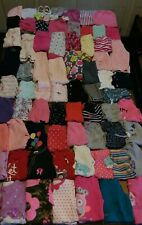 huge 80 piece baby girl clothing lot sizes 3 & 3-6 month outfits pants shirts