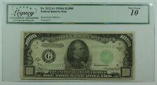 1934-A $1000 One Thousand Dollar Bill FRN Fr. 2212-G Legacy VG-10 (DW)