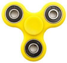 YELLOW Hand Spinner Toy Stress Reducer, Toy Tri Fidget Ceramic Bearing FREE SHIP