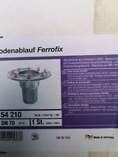 Kessel Bodenablauf Ferrofix 54210