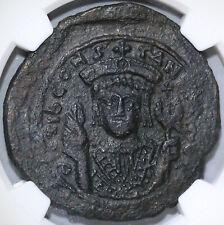 578 Tiberius II Constantine Byzantine Follis NGC Ch XF Pedigree (19041603C)