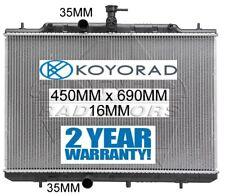 RADIATOR XTRAIL NISSAN X-TRAIL T31 2007-2013 2.5ltr PETROL RADIATOR *KOYORAD*