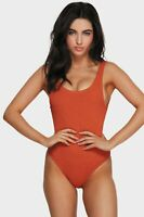 BNWT BILLABONG LADIES SUMMER HIGH ONE PIECE SIZE 10 (RUST) RRP $89.99