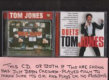 Tom Jones Reload and Duets TWO CD Albums CD